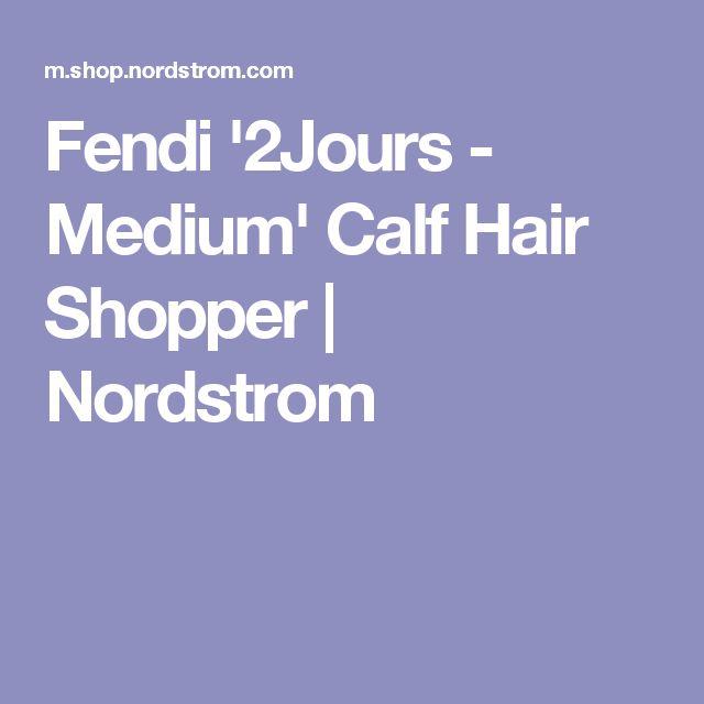 Fendi '2Jours - Medium' Calf Hair Shopper   Nordstrom