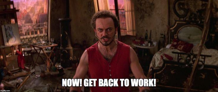 Moulin Rouge back to work meme