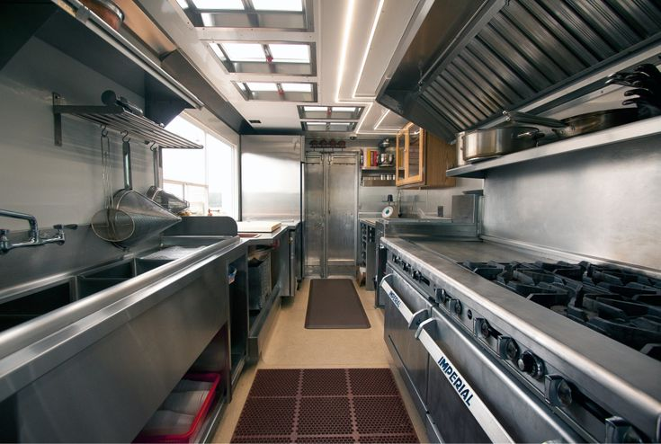Food Truck Layout Dimensions Google Search Kitchens Every Level Pinterest Food Truck