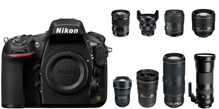 best nikon d810 lenses