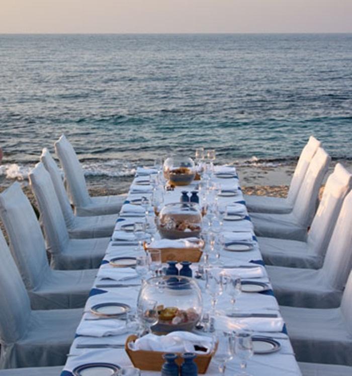 Small Intimate Beachside Reception. #KeyWestWedding #BeachWedding  #KeyWestBeachWedding #KeyWestHotelWedding
