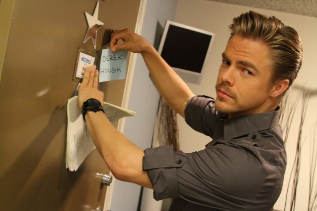 Derek Hough~Dancer/Choreographer. I've never seen this picture!!