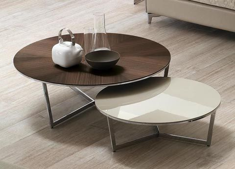 Alivar Harpa Coffee TableChoose from a top in matt or gloss lacquer, high tech stainproof white acrylic stone, black Marquina marble, white Michelangelo or Calacatta marble, crystalized marble, dark oak or ebony. The base can be chromed, or lacquered in a contrasting or matching colour. 72cm across x 24H 95cm across x 31.5H