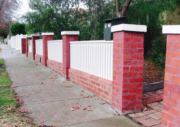 Old brick fence given a face lift by Ben's brickwork