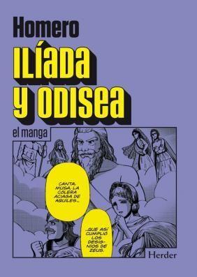 Iíada y Odisea. el manga