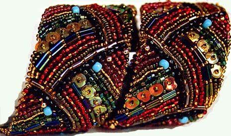 узоры для плетения широких браслетов из бисера - Интересные полезности.