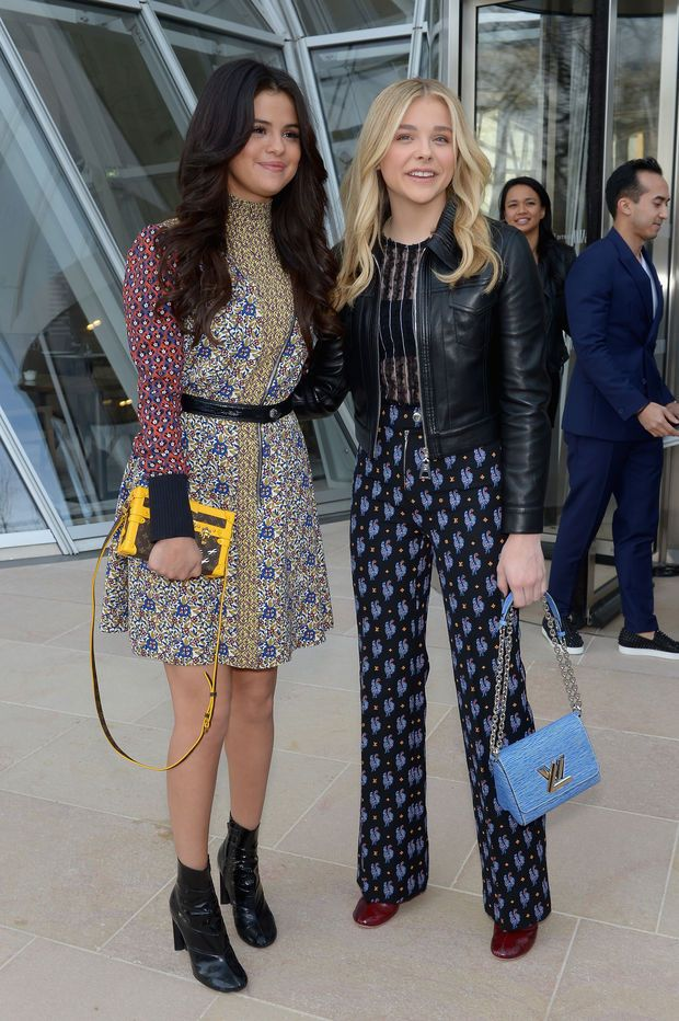 Selena Gomez et Chloë Grace Moretz
