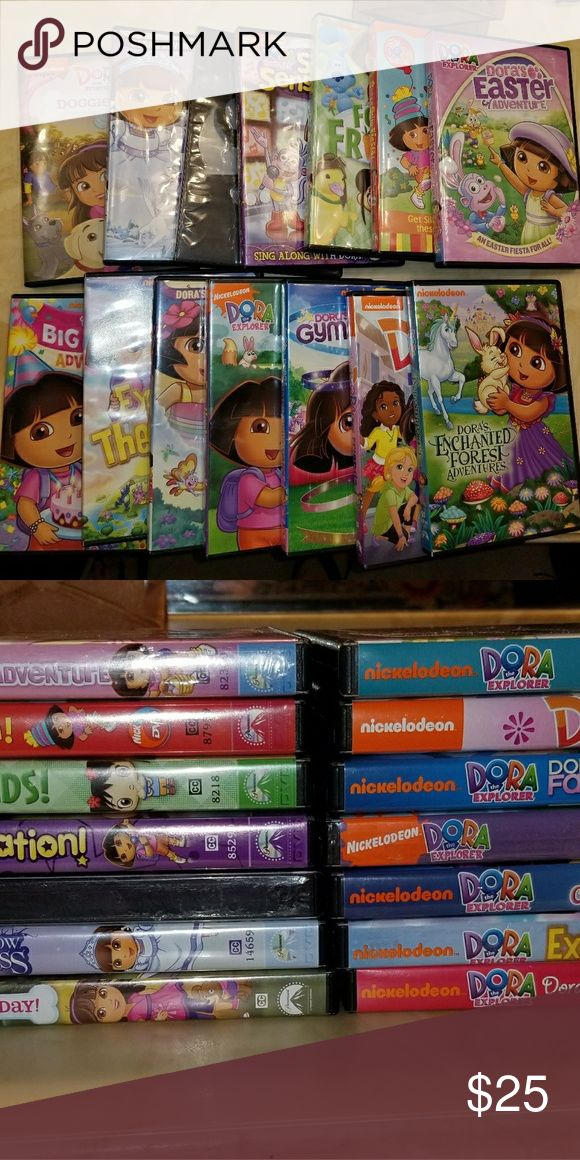 Dora DVD lot 14 Dora Dvd's. Selling as a set. Open to all offers. dora Other