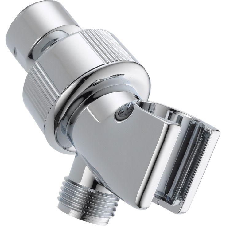 Delta Chrome Adjustable Shower Arm Mount for Handheld Shower 561308