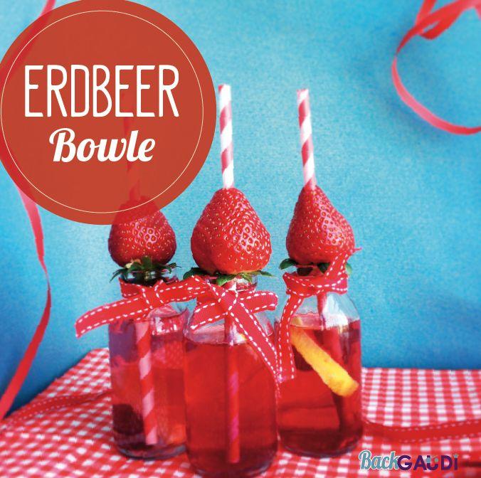 Erdbeer Kinder Bowle – BackGAUDI