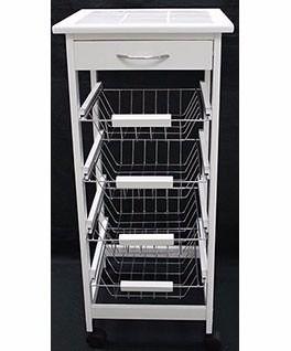 Carro organizador cocina verduras madera cajones estantes for 5 x 20 kitchen ideas