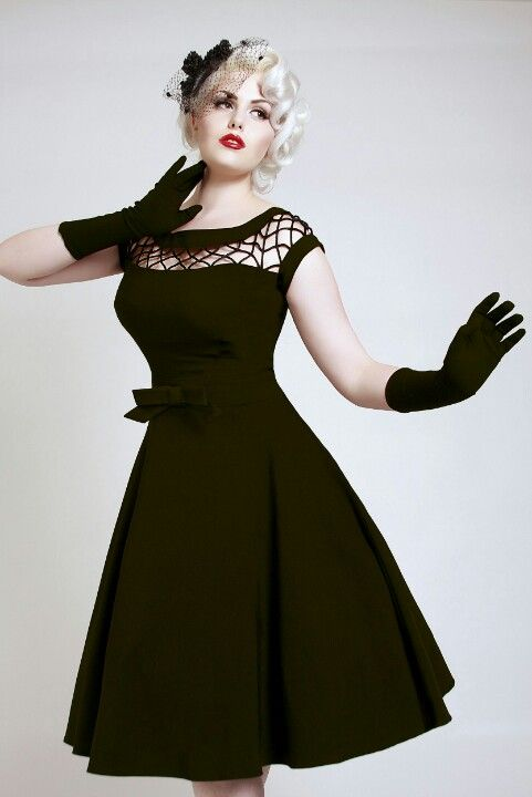 Pin up dress- I get so many compliments when I wear this one. Love it!!!!