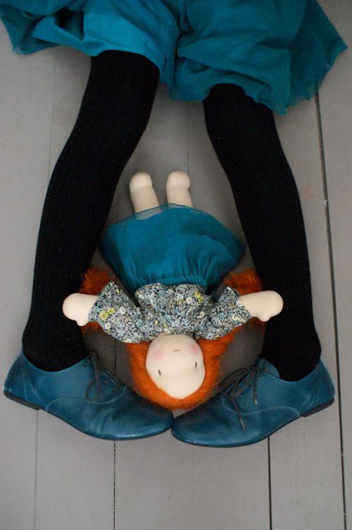 Waldorf doll from   Pénélope (http://blog.happytoseeyou.fr)