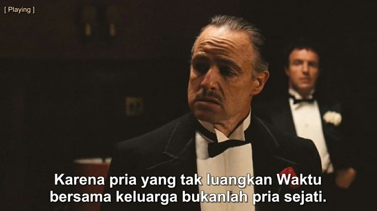 Be the man #thegodfather #doncorleone