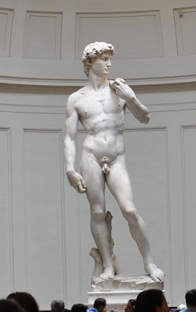 Visit the Accademia Gallery in Florence and see Michelangelo's David and Prisoners along with a wonderful collection of other works of art by Botticelli, Giotto and more.