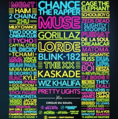 Life is Beautiful Festival 2017 line-up, tickets and dates. Find out who is playing live at Life is Beautiful Festival 2017 in Las Vegas in Sep 2017.