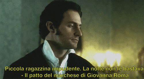 """Piccola ragazzina impudente. La notte non le bastava."" © #IlPattoDelMarchese - Giovanna Roma #Regency #LordRussell #teaser #gif #LadyAnnabelle"
