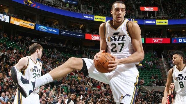 Detroit Pistons vs Utah Jazz Vivint Smart Home Arena NBA Live
