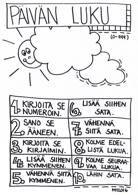 Päivän luku, mustavalkoinen (0-999).