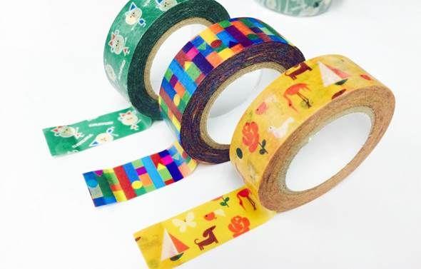 サクラクレパス柄マスキングテープ-KITERAオリジナル- | オリジナル商品 | 取扱商品 | 紀寺商事株式会社