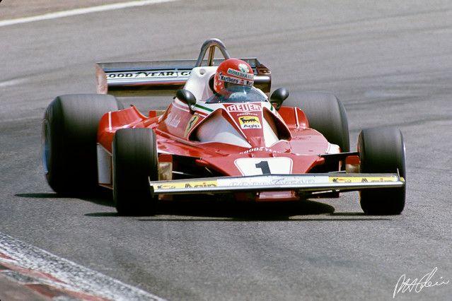 Lauda - 1976 - Spain