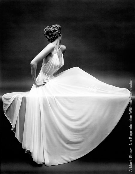 This is a small sample of Mark Shaw's fashion photography from the 1950's and 1960's.