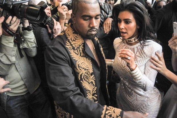 Kim Kardashian e Kanye West X17 (Foto: X17/Agência)