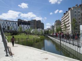 Visite COP21 - Eco-quartier ZAC Gare de Rungis