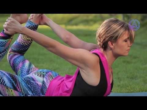 10 perces formába hozó fogyasztó, karcsúsító jóga program - YouTube