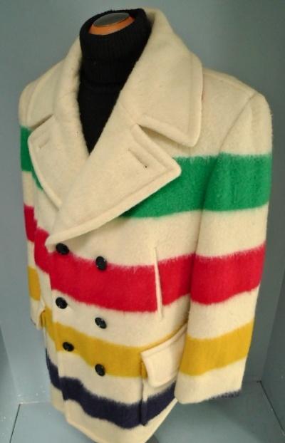 Hudson Bay Company Hbc Point Wool Blanket Coat Dappered