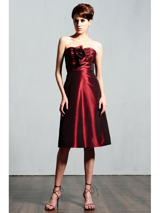 Wine colored short bridesmaid dress bridesmaid and for Wine colored wedding dresses