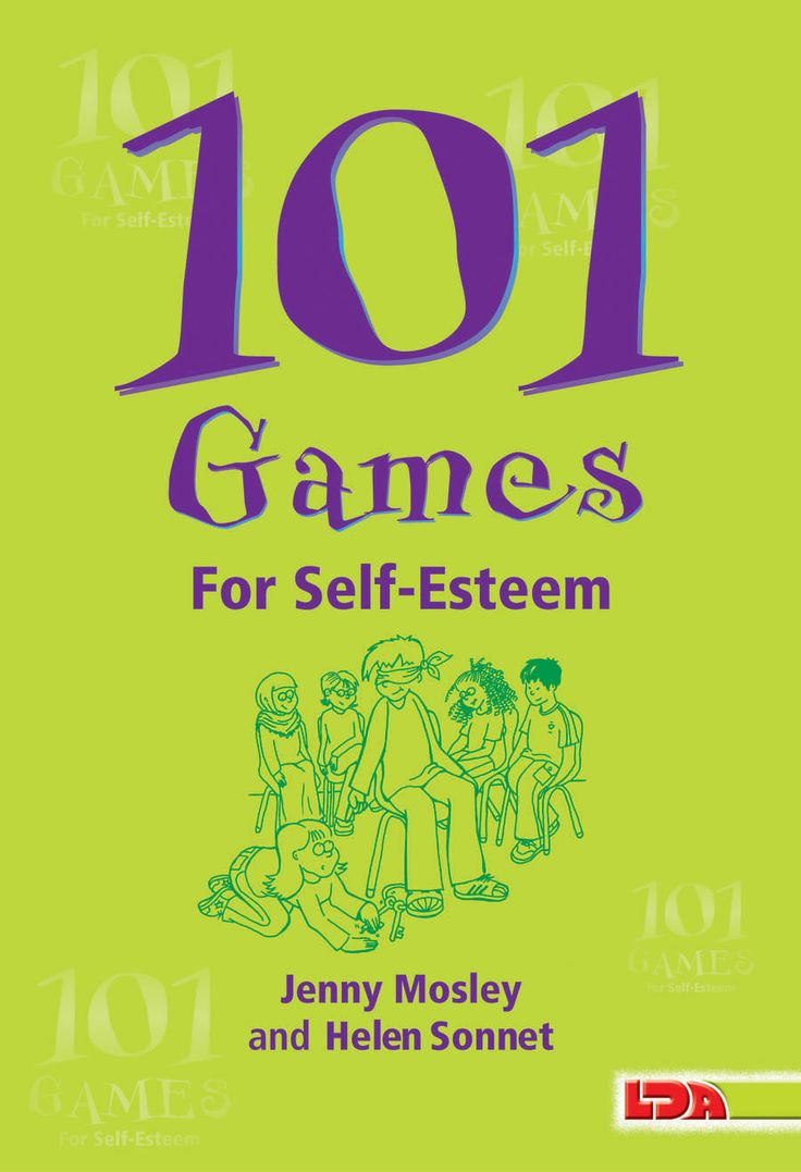 101 Games for Self-Esteem  Unlock your students' full potential with this collection of innovative games designed to promote self-esteem. Students will learn how to relate to one another, and feel more positive about themselves while having fun playing these games. These classroom-tested activities are organized thematically (such as games with music or physical activity) and can be played in pairs or groups in the classroom or outside. 144 pages.    $17.95