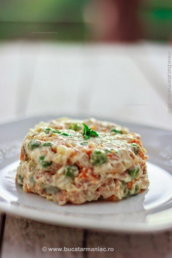 bucatar maniac: Salata de Boeuf
