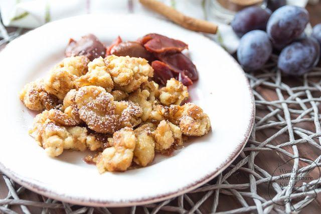 Wonder Wunderbare Küche: Soulfood für die kalten Monate: mit Semmelschmarrn und eingekochten Zimt-Zwetschgen-Kompott