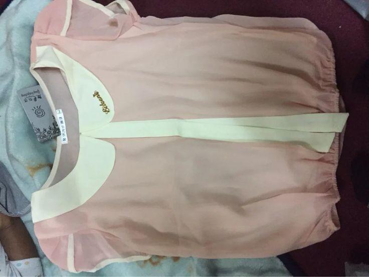 Tienda Online Nuevo 2016 mujeres Top de Gasa Del Cordón Del Verano blusas Blusa de punto Blusas de moda de manga corta patchwork suelta más informal camisa   Aliexpress móvil