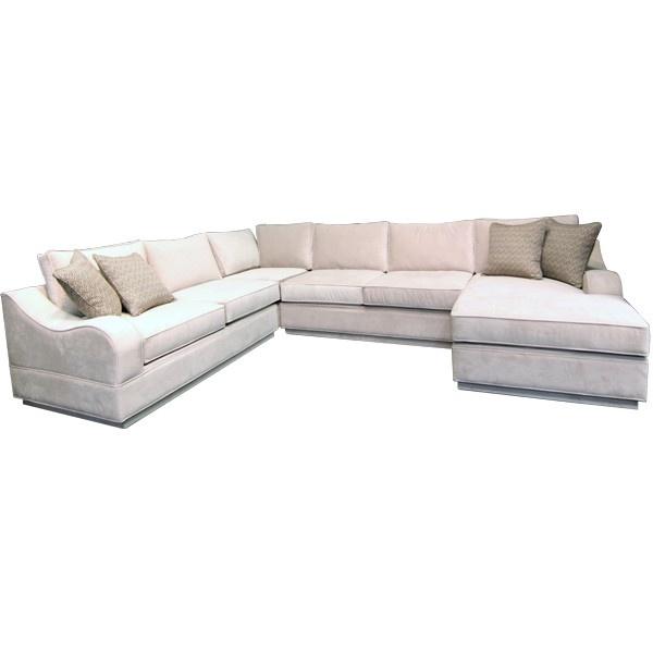 GALLERY FURNITURE CUSTOM CONTEMPORARY SAND SECTIONAL   SOFA SECTIONAL  LIVING ROOM Gallery Furniture