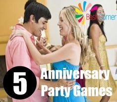 5 Anniversary Party Games