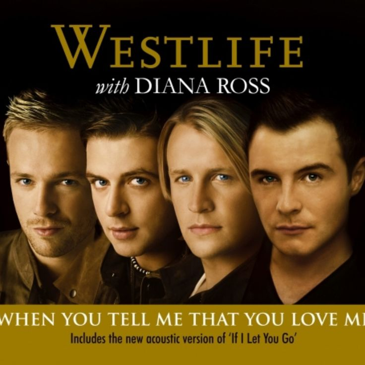 Westlife feat Diana Ross - When You Tell Me That You Love Me recorded by _SIBA_ on Sing! Karaoke. Sing your favorite songs with lyrics and duet with celebrities.