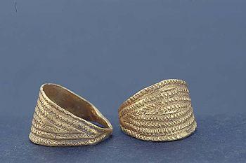 Viking age / Gold ring/ Gotland
