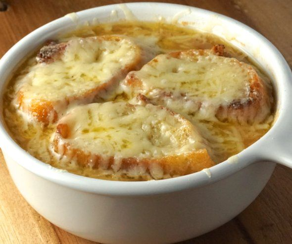 Рецепт лукового супа и диета