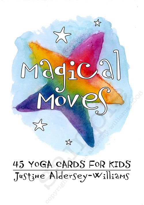 Magical Moves - 45 Printable Yoga Cards (and game) for yoga-loving families and teachers to share with children.    This is a digital download in