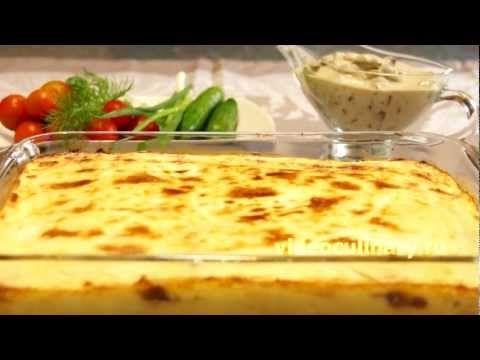 Картофельная запеканка с грибами – рецепт Бабушки Эммы
