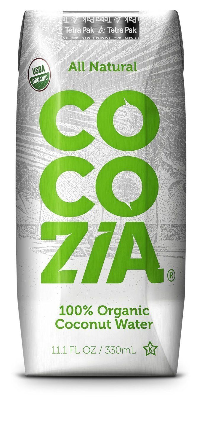 Cocozia 100% Organic Coconut Water 11.1 Oz (Pack of 1)