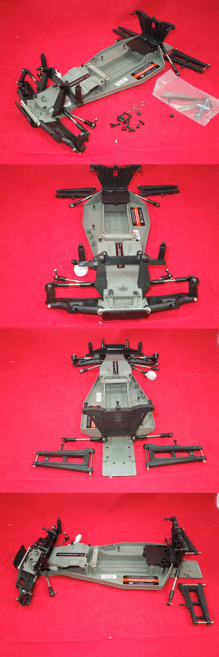 Chassis Plates Frames and Kits 182198: Traxxas Rustler Vxl Chassis Parts Lot + Tools Roller Rolling Xl-5 New Brushless -> BUY IT NOW ONLY: $52.99 on eBay!