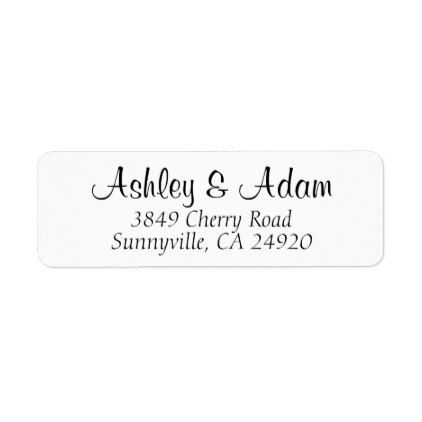 Best 25+ Address label template ideas on Pinterest Print address - address label