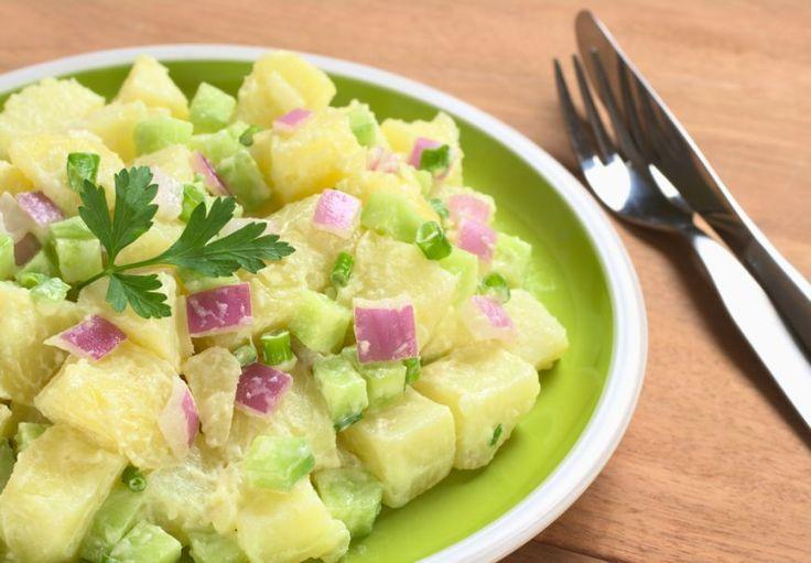 Salata de avocado cu cartofi - www.Foodstory.ro