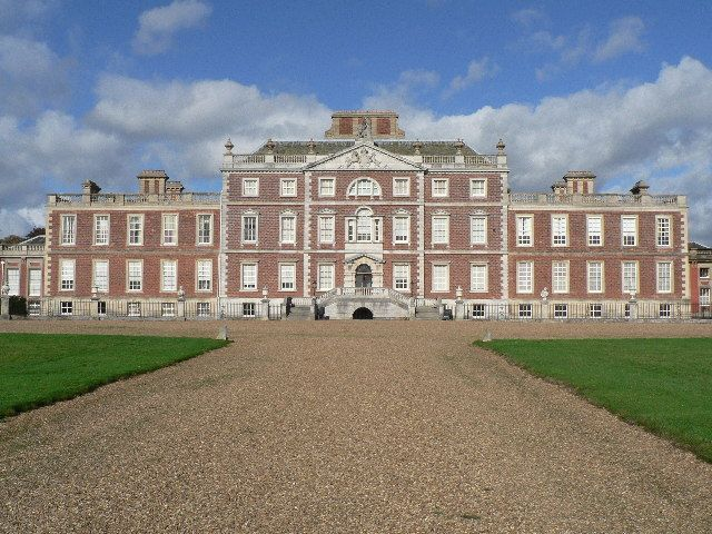 Wimpole Hall, within the Parish of Wimpole, Cambridgeshire. Begun in 1640 by Thomas Chicheley, it is today owned by the National Trust. The largest house in Cambridgeshire. Wimpole Hall's grounds were laid out & modified by landscape designers such as 'Capability' Brown (1767) Humphry Repton (1801/1809), completed under the auspices of Elsie & George Bambridge. (Elsie, daughter of Rudyard Kipling, revitalised the house. This NT property is in the state it is in today, thanks to her efforts.