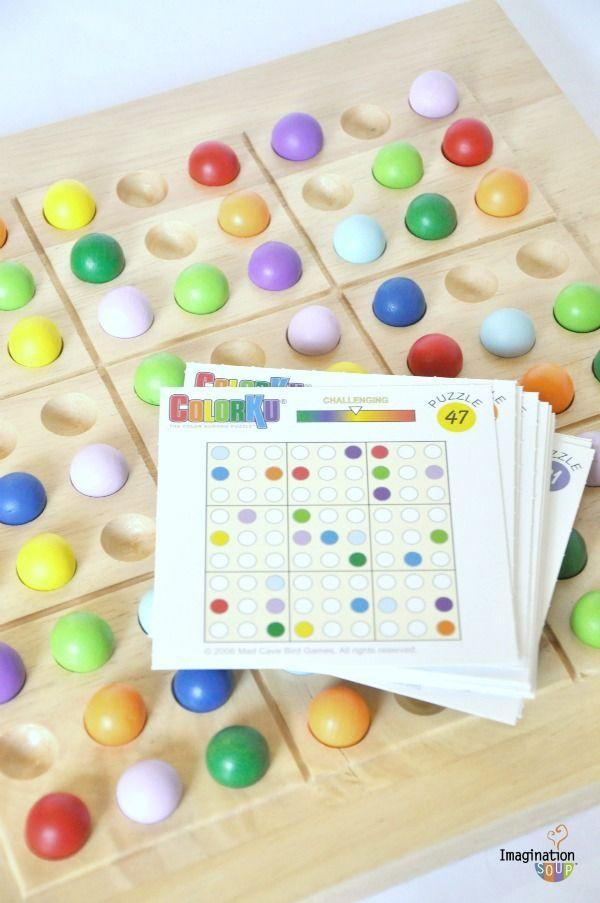 Educational Colorku Logic Game Logic Games For Kids Logic Games Fun Math Games