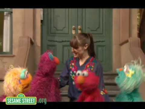Sesame Street: Feist sings 1,2,3,4 I love this song - can't get it out of my head once I've heard it!
