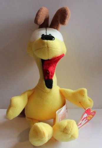 Ty Beanie Babies Garfield Odie An Ode to Odie! 6.5in Plush Doll @ niftywarehouse.com #NiftyWarehouse #Garfield #GarfieldCat #GarfieldTheCat #Comics #JimDavis